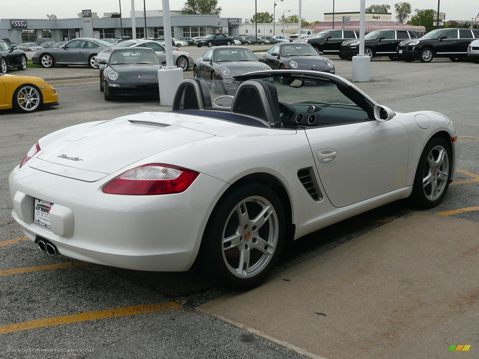2007 porsche boxster in carrara white photo 12 711940 cars for sale. Black Bedroom Furniture Sets. Home Design Ideas