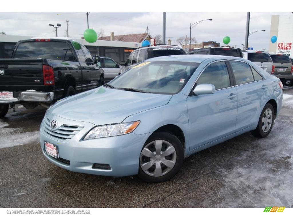 2008 toyota camry le in sky blue pearl photo 2 756798 cars for sale. Black Bedroom Furniture Sets. Home Design Ideas