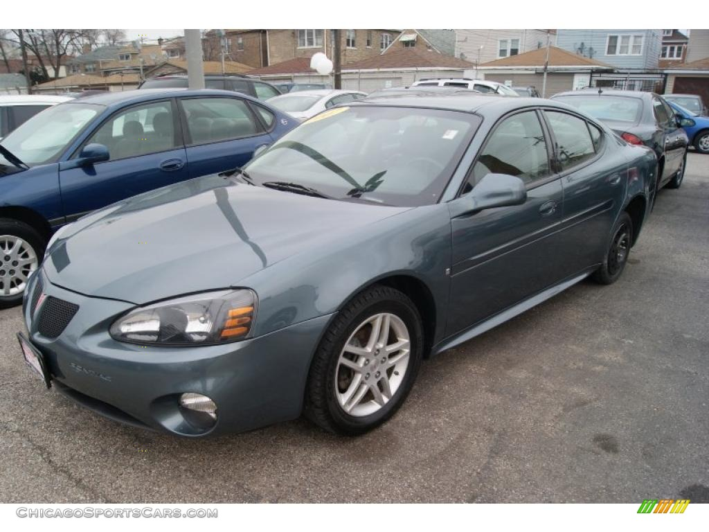 2007 pontiac grand prix gt sedan in stealth gray metallic photo 2 223242 chicagosportscars. Black Bedroom Furniture Sets. Home Design Ideas
