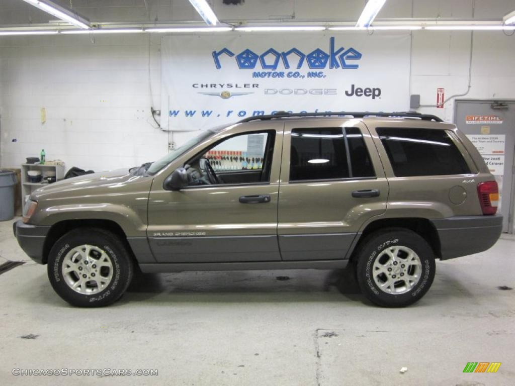 2001 jeep grand cherokee laredo 4x4 in woodland brown satin glow
