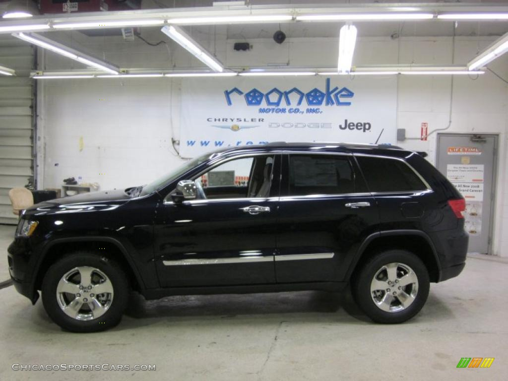 Blackberry Pearl / Black/Light Frost Beige Jeep Grand Cherokee Limited ...