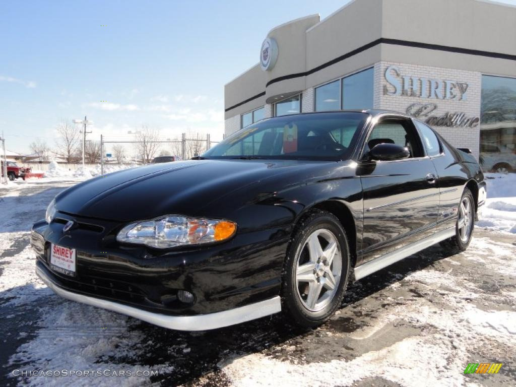 2004 chevrolet monte carlo supercharged ss in black 169928 cars for. Black Bedroom Furniture Sets. Home Design Ideas