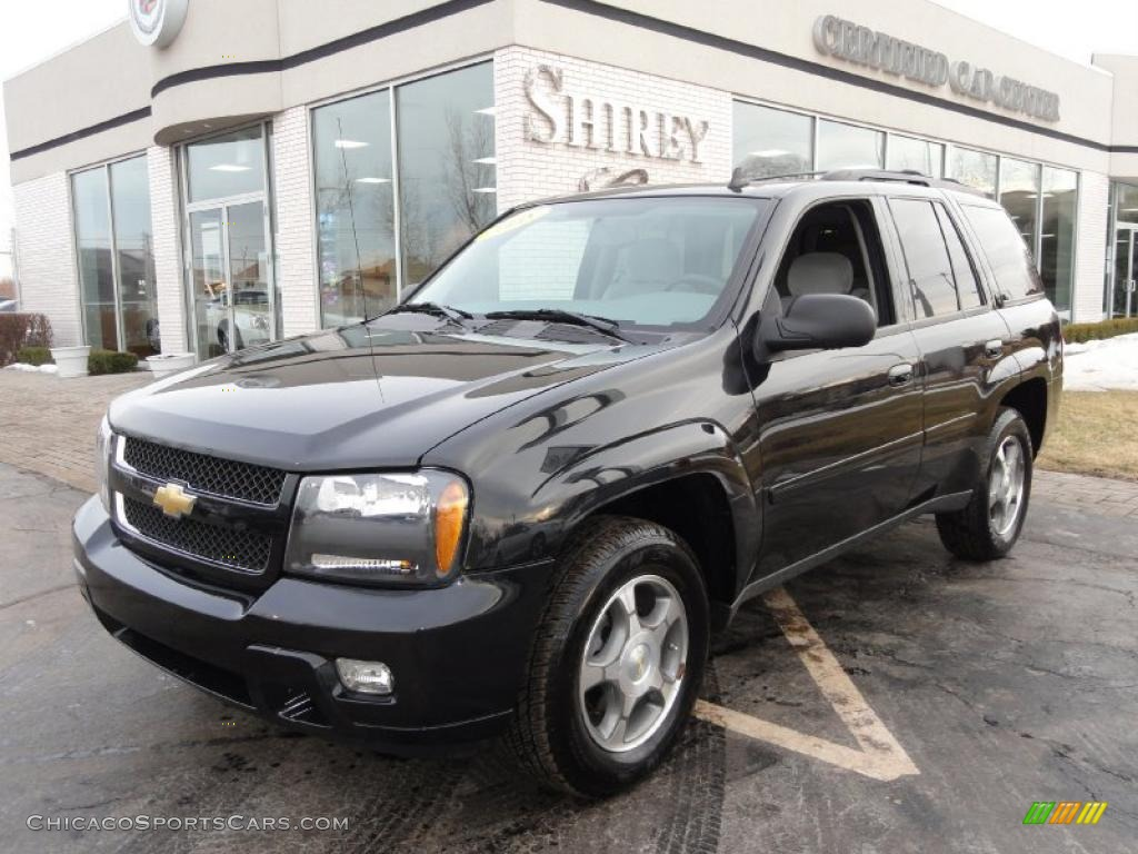 2008 chevrolet trailblazer ls 4x4 in black granite metallic 168283. Black Bedroom Furniture Sets. Home Design Ideas