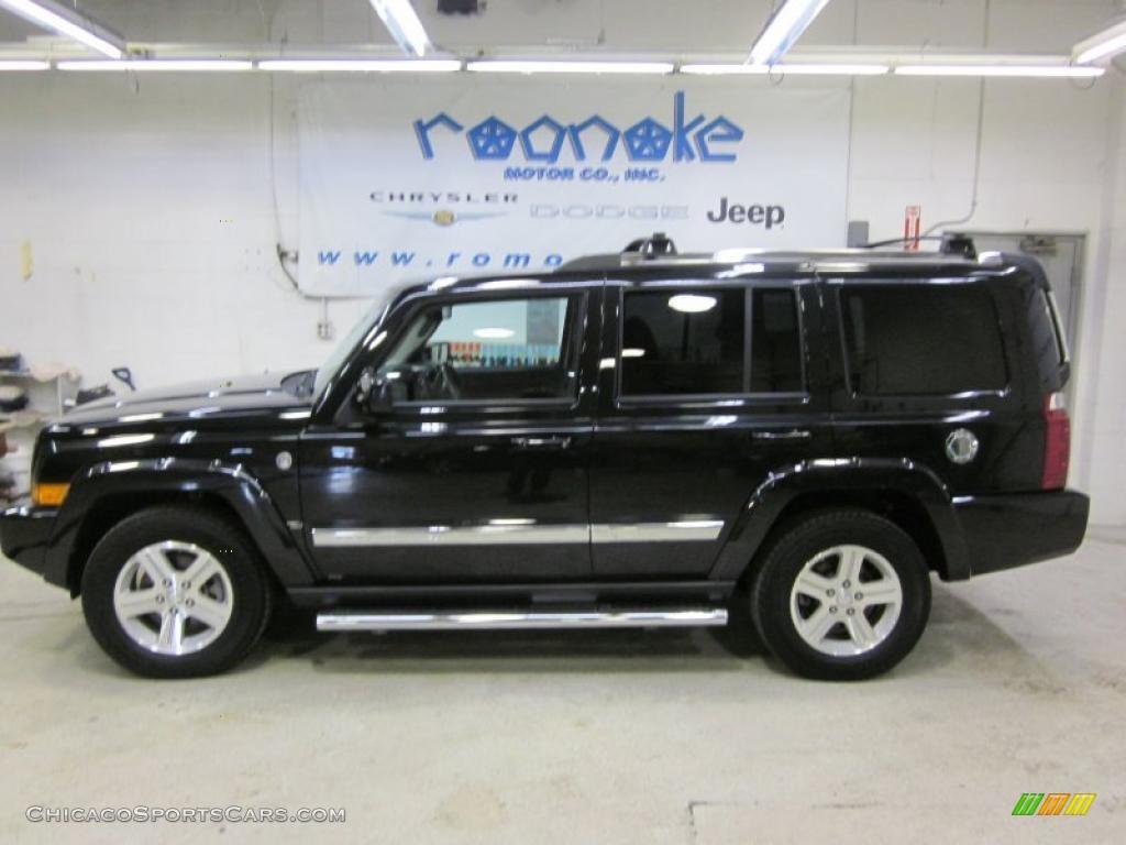 2010 jeep commander limited 4x4 in brilliant black crystal pearl 118598 chicagosportscars. Black Bedroom Furniture Sets. Home Design Ideas
