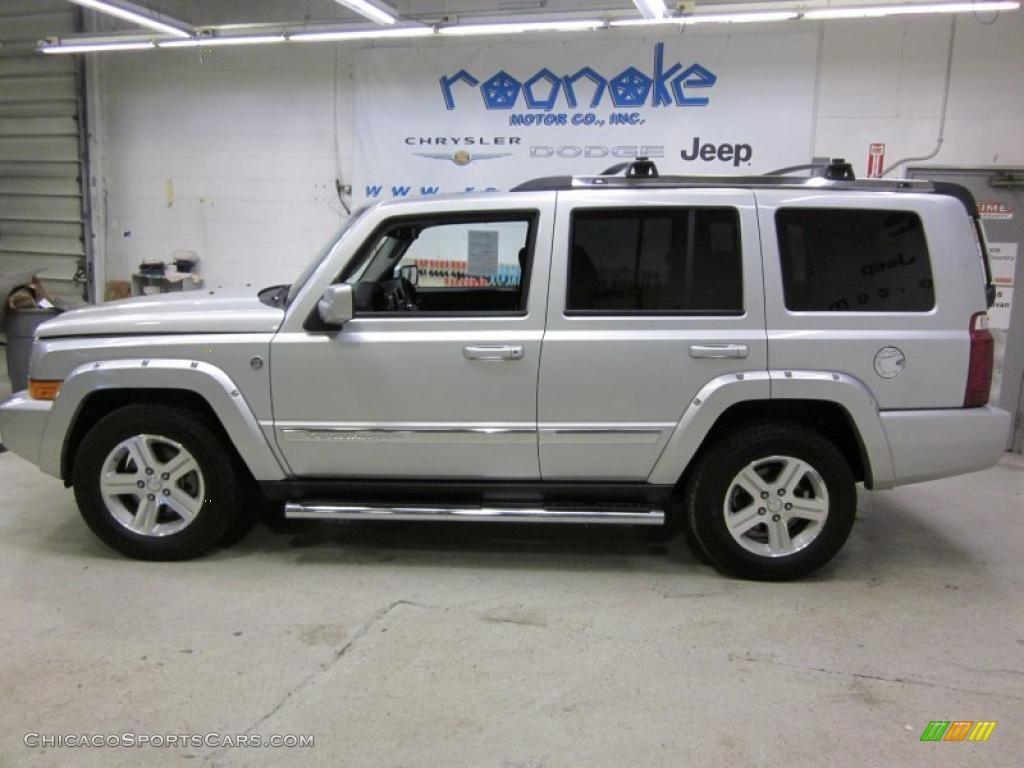 2010 Jeep Commander Limited 4x4 In Bright Silver Metallic 118589