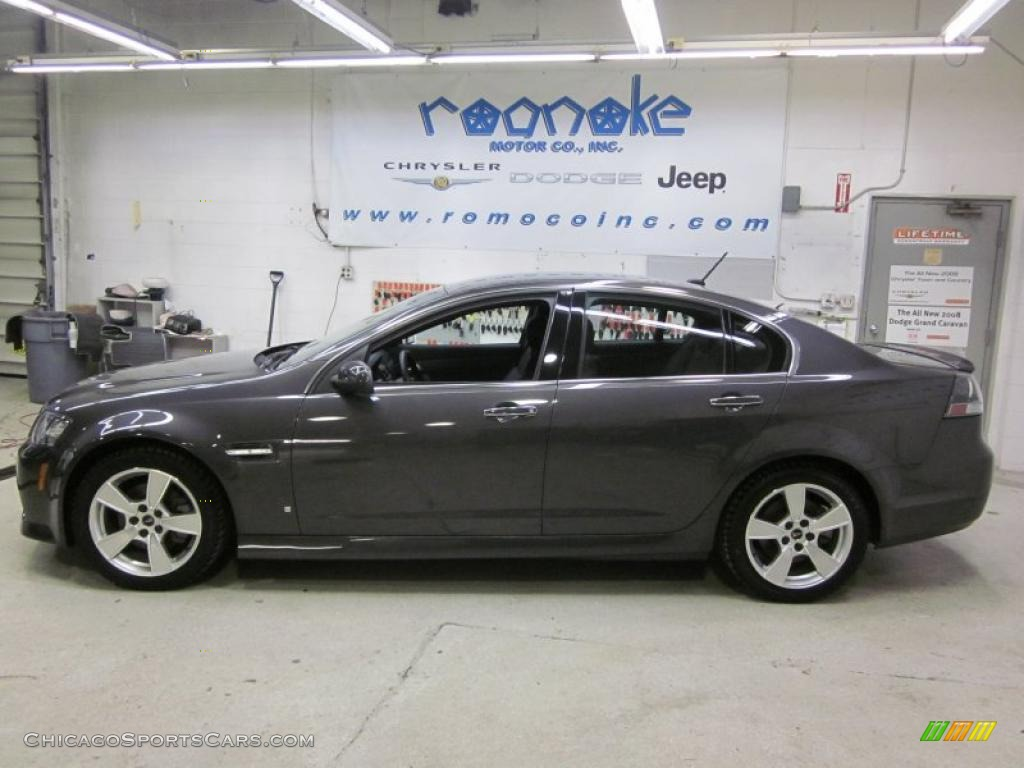 2008 pontiac g8 gt in magnetic gray metallic 142073. Black Bedroom Furniture Sets. Home Design Ideas