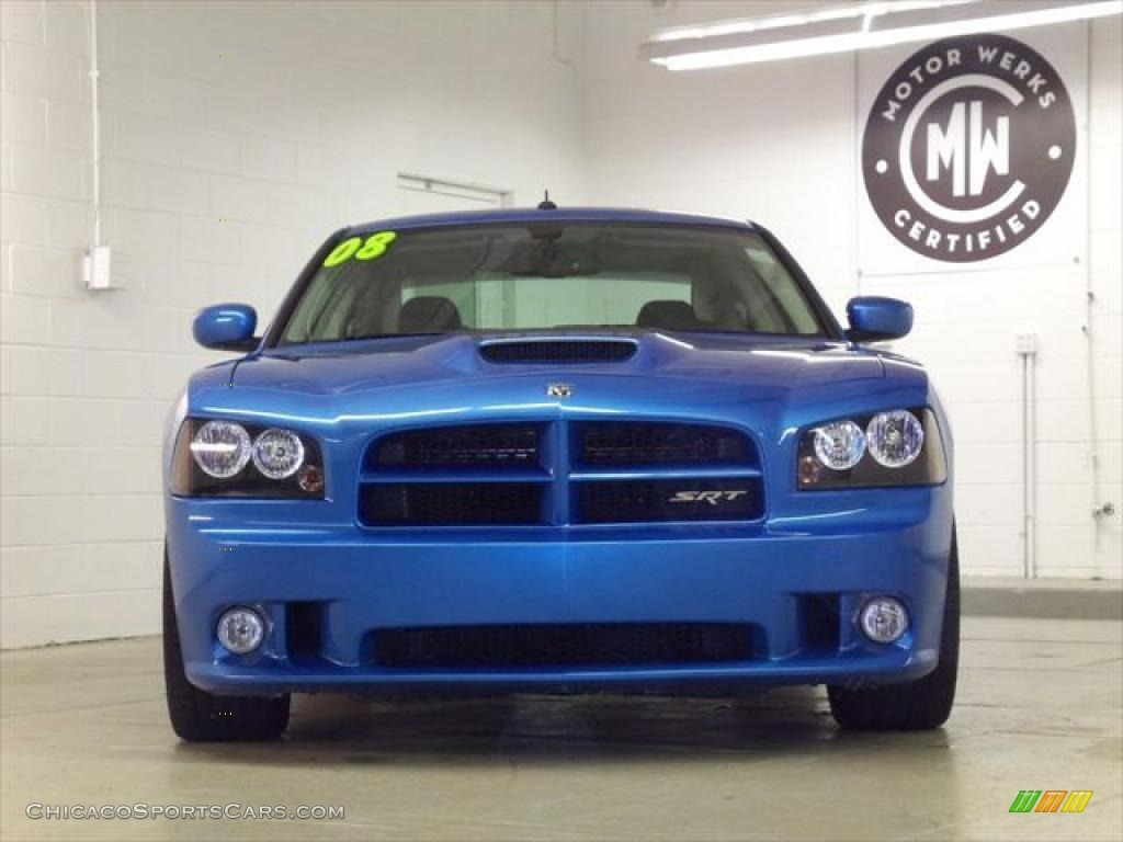 2008 dodge charger srt 8 super bee in b5 blue pearl photo. Black Bedroom Furniture Sets. Home Design Ideas