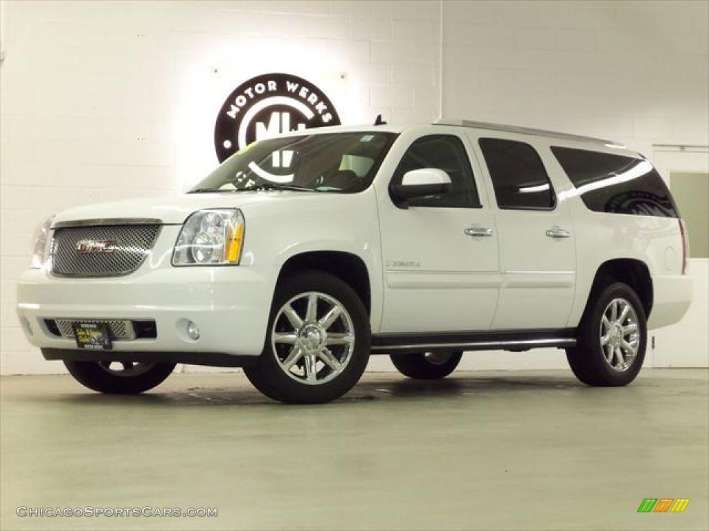 2008 gmc yukon xl denali awd in summit white 240389 cars for sale in. Black Bedroom Furniture Sets. Home Design Ideas