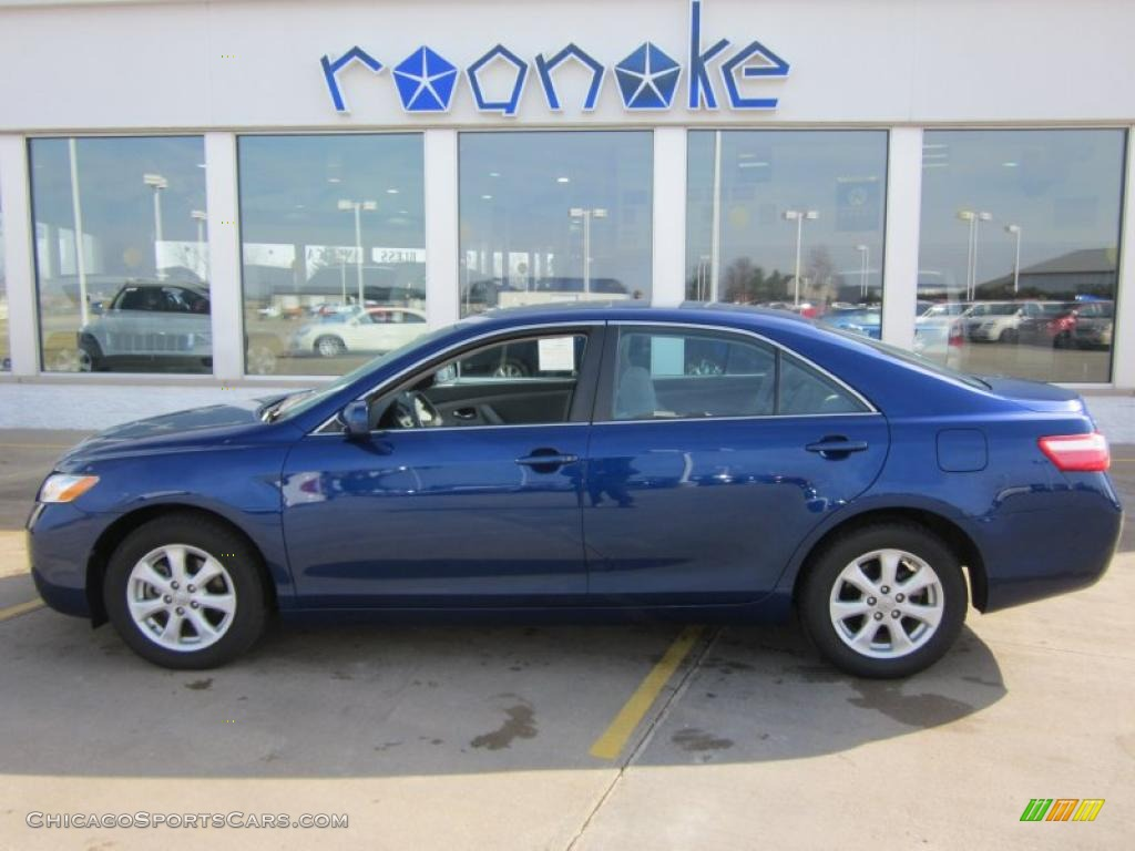 2008 toyota camry le in blue ribbon metallic 042702 cars for sale in. Black Bedroom Furniture Sets. Home Design Ideas