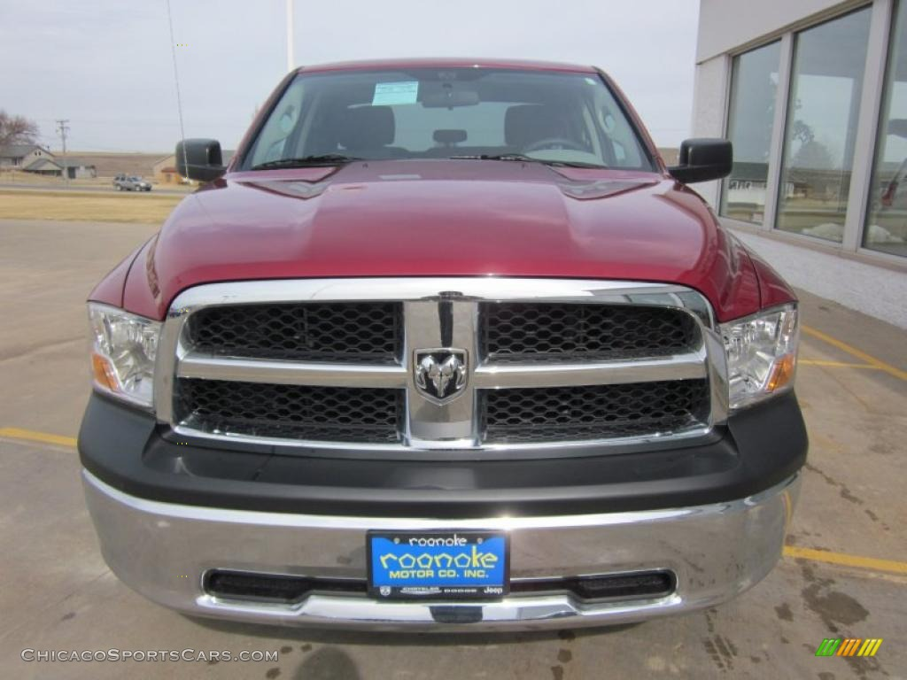 2011 dodge ram 1500 st quad cab 4x4 in deep cherry red crystal pearl photo 18 617835. Black Bedroom Furniture Sets. Home Design Ideas