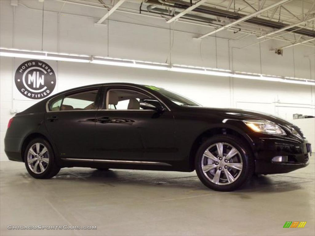 2008 lexus gs 350 awd in obsidian black photo 3 019335 cars for. Black Bedroom Furniture Sets. Home Design Ideas