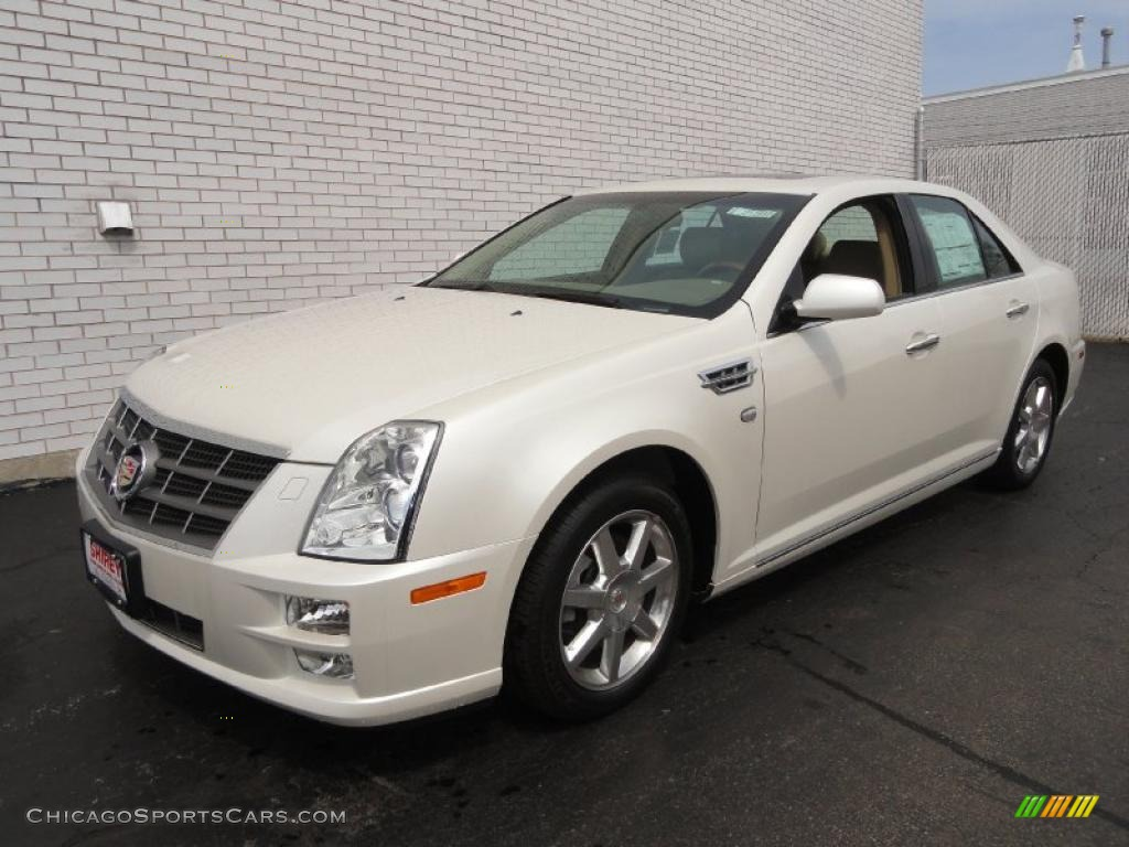 2011 cadillac sts 4 v6 awd in white diamond tricoat 117638 cars for. Black Bedroom Furniture Sets. Home Design Ideas