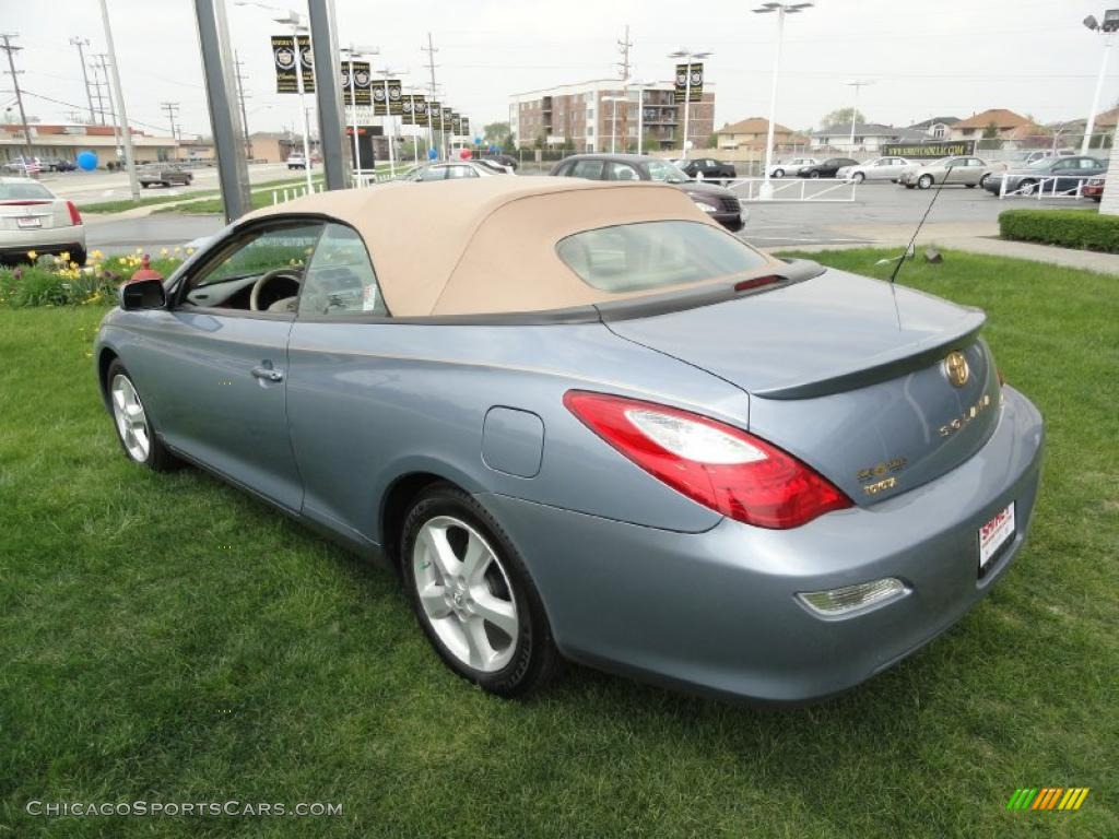 2008 toyota solara sle v6 convertible in cosmic blue metallic photo 21 151004. Black Bedroom Furniture Sets. Home Design Ideas