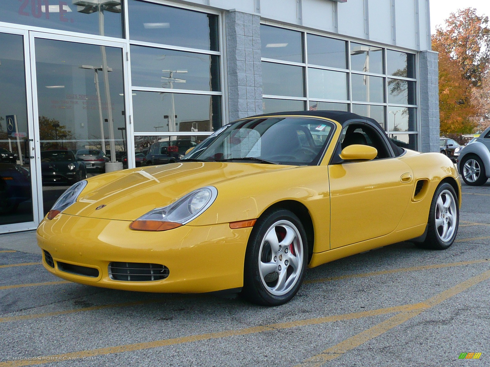 2000 porsche boxster s in speed yellow 661088 cars for sale in illinois. Black Bedroom Furniture Sets. Home Design Ideas
