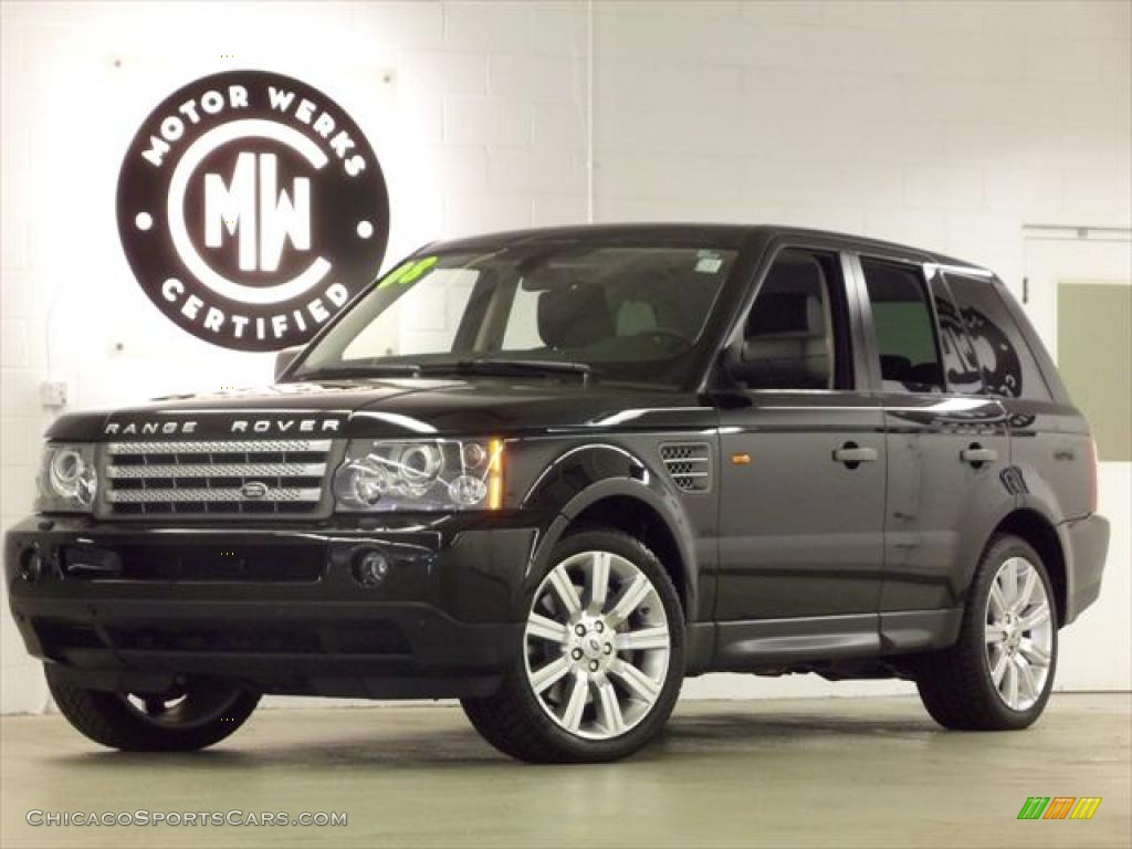 2008 Land Rover Range Rover Sport Supercharged In