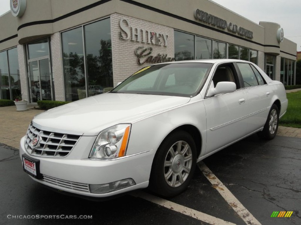 2009 cadillac dts in white diamond tricoat 113382. Black Bedroom Furniture Sets. Home Design Ideas