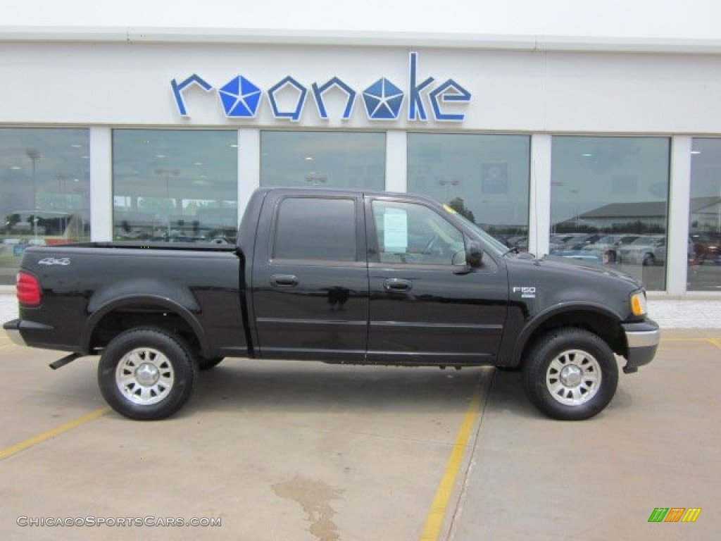 2001 ford f150 xlt supercrew 4x4 in black photo 2 e41135 cars for. Black Bedroom Furniture Sets. Home Design Ideas