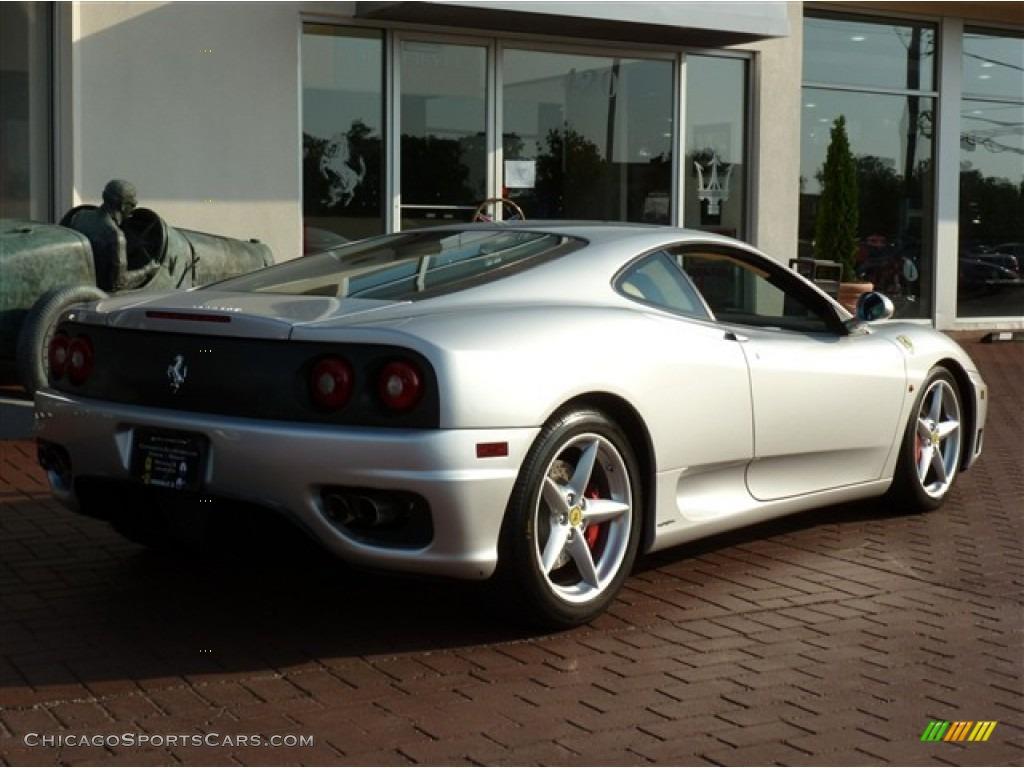 View Ferrari 360 Silver Wallpaper  Background