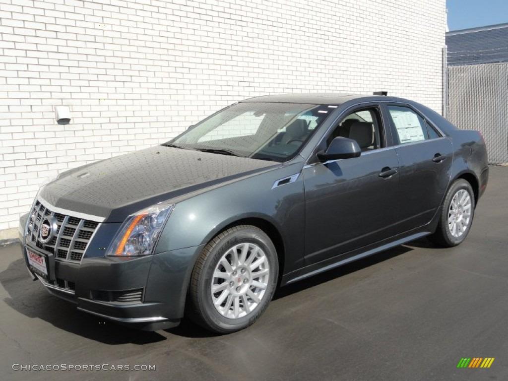 2012 Cadillac Cts 4 3 0 Awd Sedan In Thunder Gray