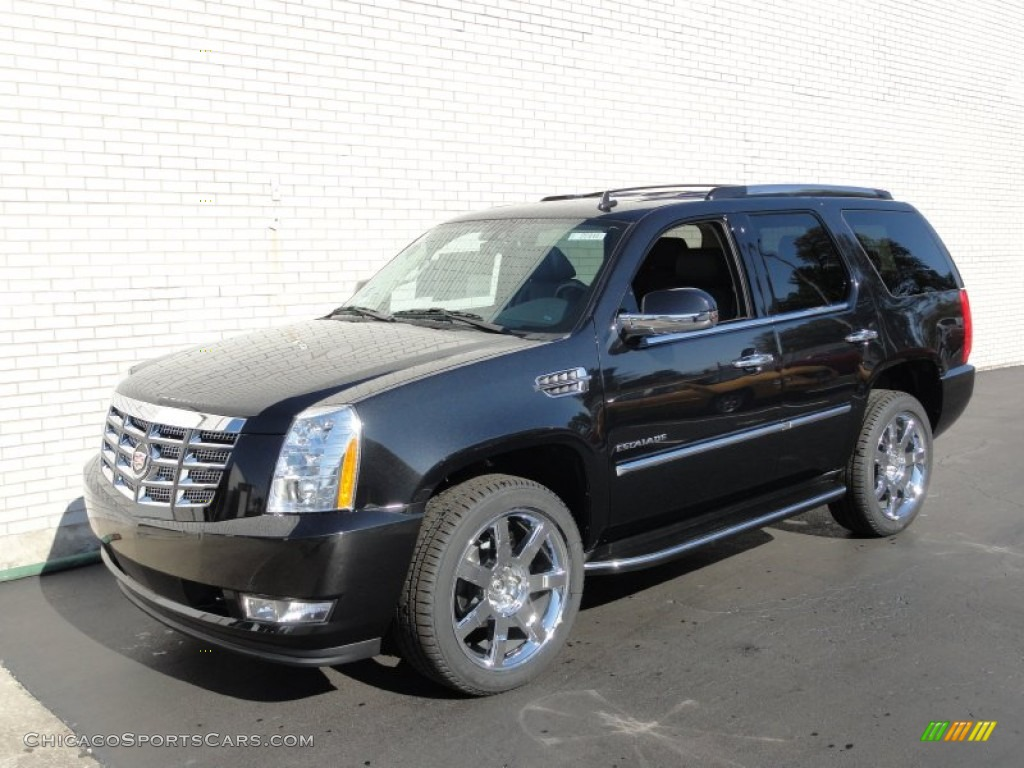 2012 cadillac escalade luxury awd in black ice metallic. Black Bedroom Furniture Sets. Home Design Ideas