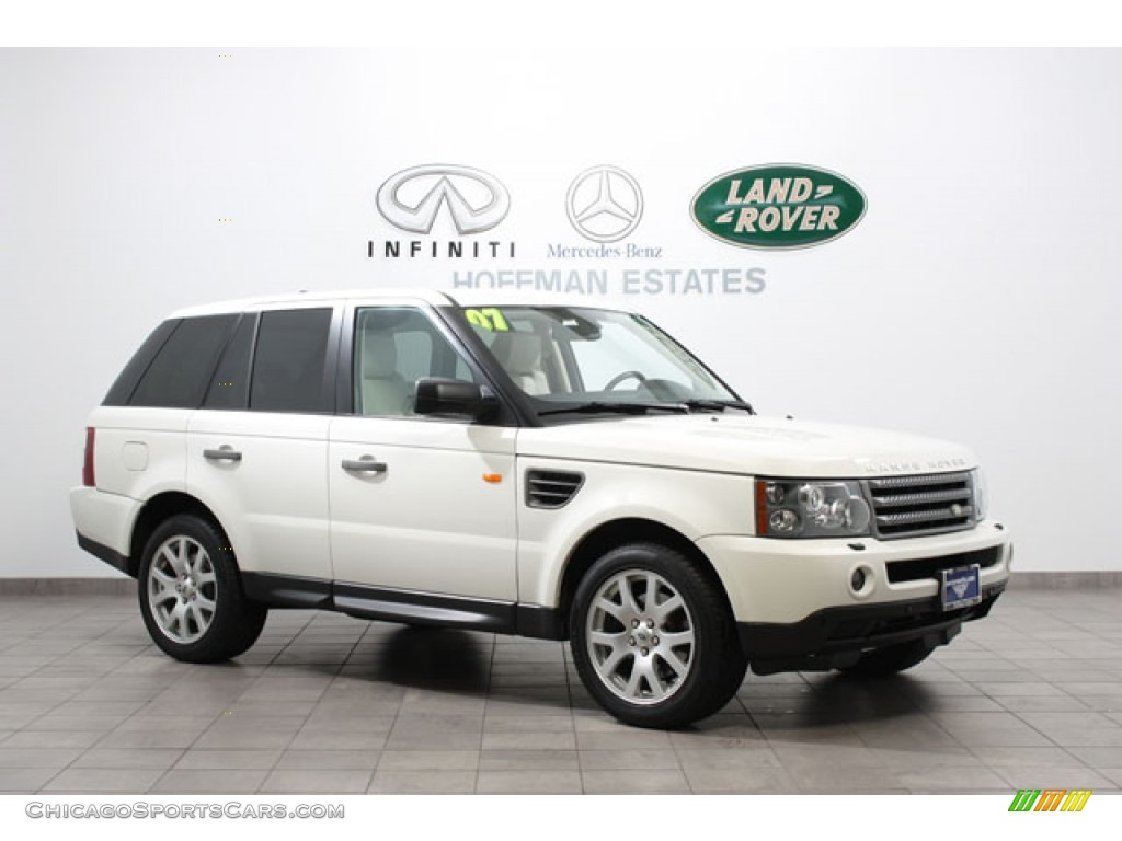 2007 land rover range rover sport hse in chawton white 989684 cars. Black Bedroom Furniture Sets. Home Design Ideas