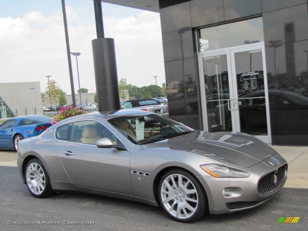2008 Maserati Granturismo In Grigio Alfieri Silver