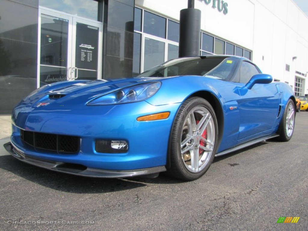 2008 Chevrolet Corvette Z06 In Jetstream Blue Metallic