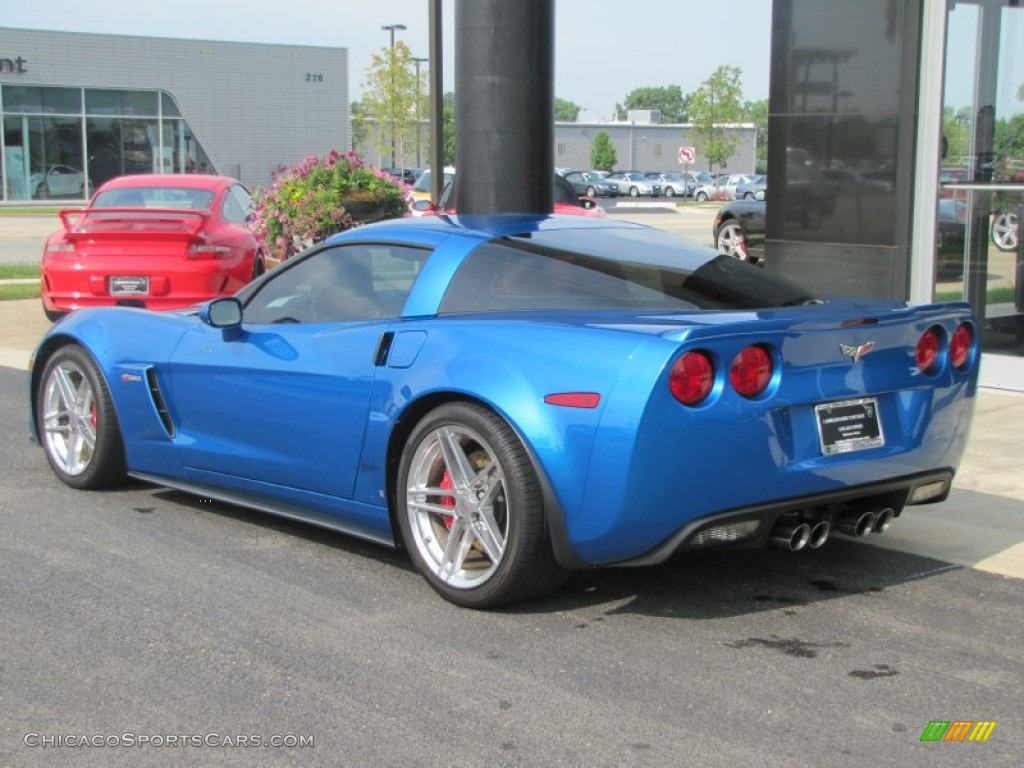 2008 chevrolet corvette z06 in jetstream blue metallic photo 7 117572. Black Bedroom Furniture Sets. Home Design Ideas