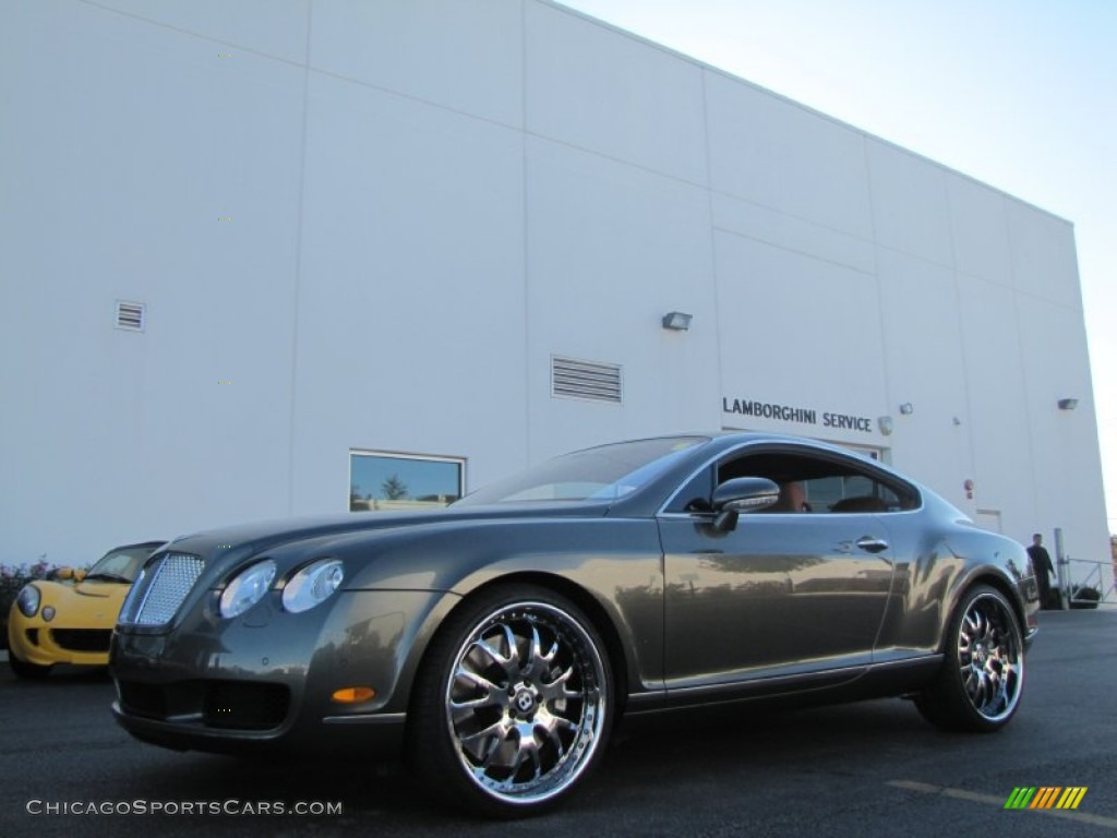 Cypress / Saddle Bentley Continental GT