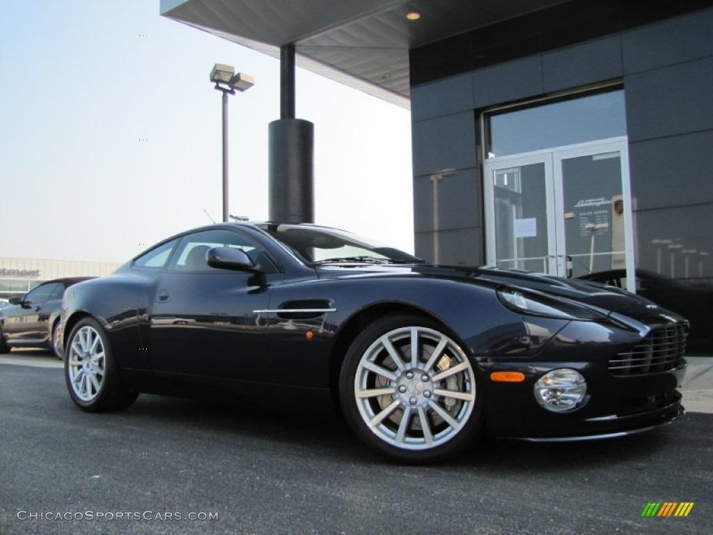 Blue Sapphire / Caspian Blue/Light Tan Aston Martin Vanquish S