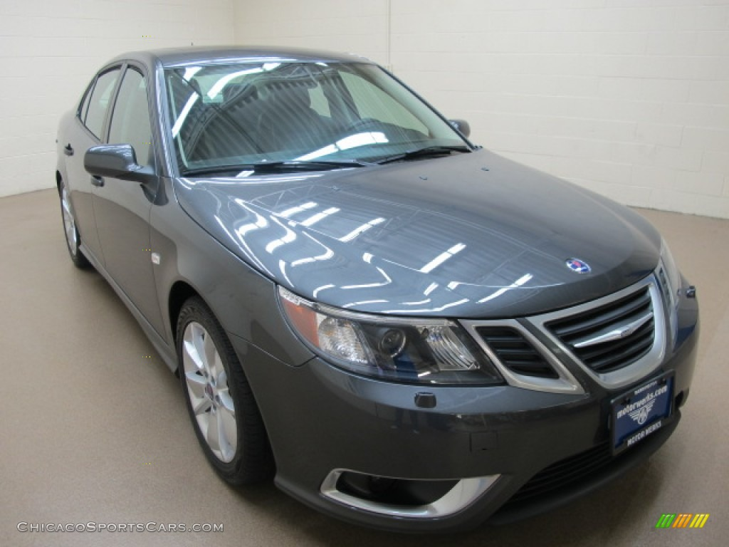 2011 saab 9 3 aero sport sedan in carbon grey metallic. Black Bedroom Furniture Sets. Home Design Ideas