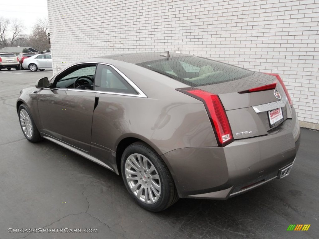 2012 Cadillac Cts 4 Awd Coupe In Mocha Steel Metallic