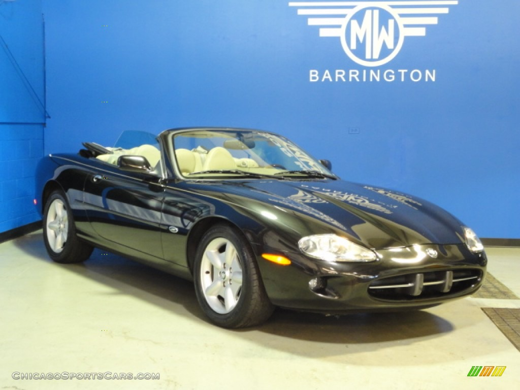 1998 XK XK8 Convertible - Anthracite Metallic / Ivory photo #1