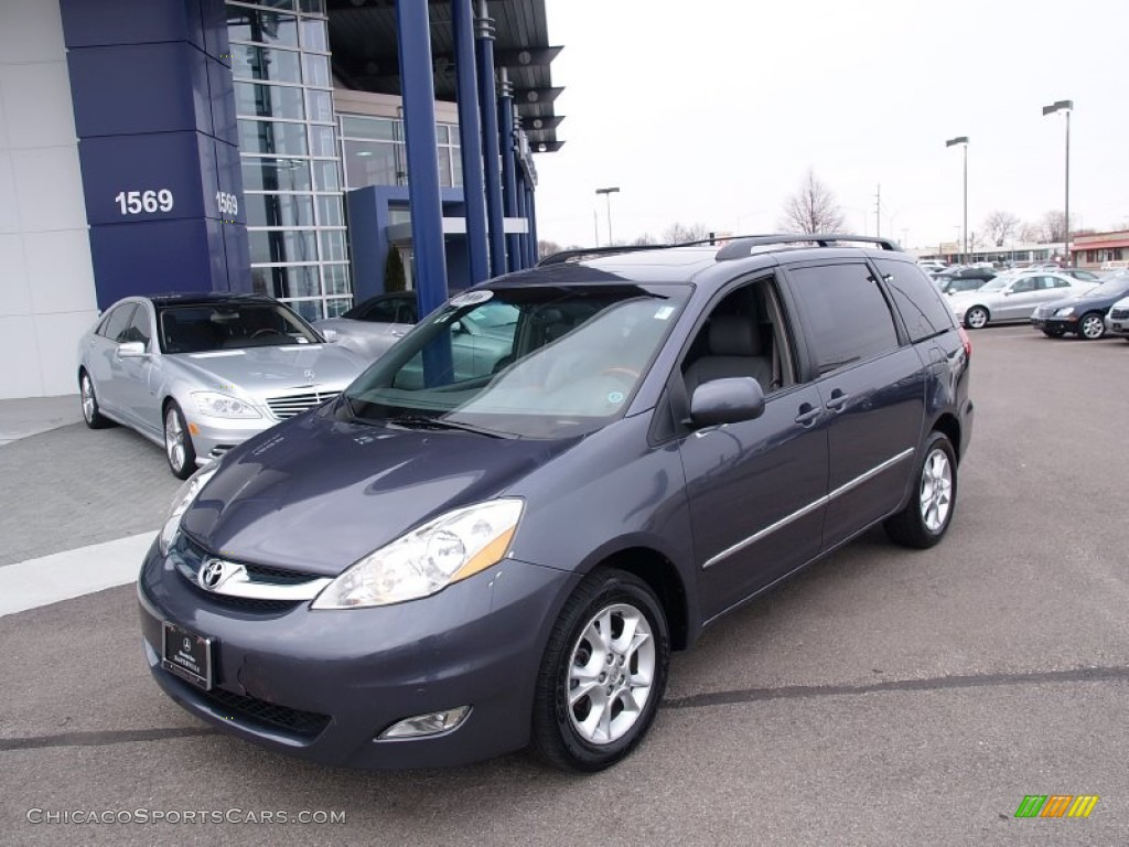 Slate Metallic / Stone Gray Toyota Sienna XLE AWD