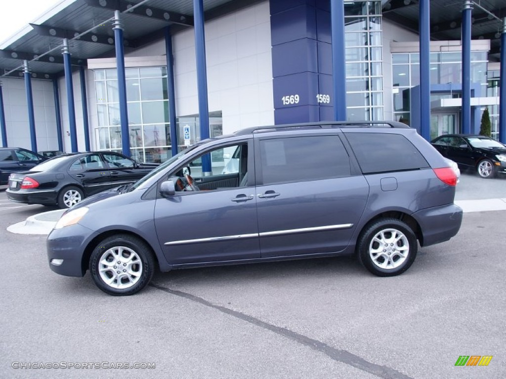 2006 Sienna XLE AWD - Slate Metallic / Stone Gray photo #3