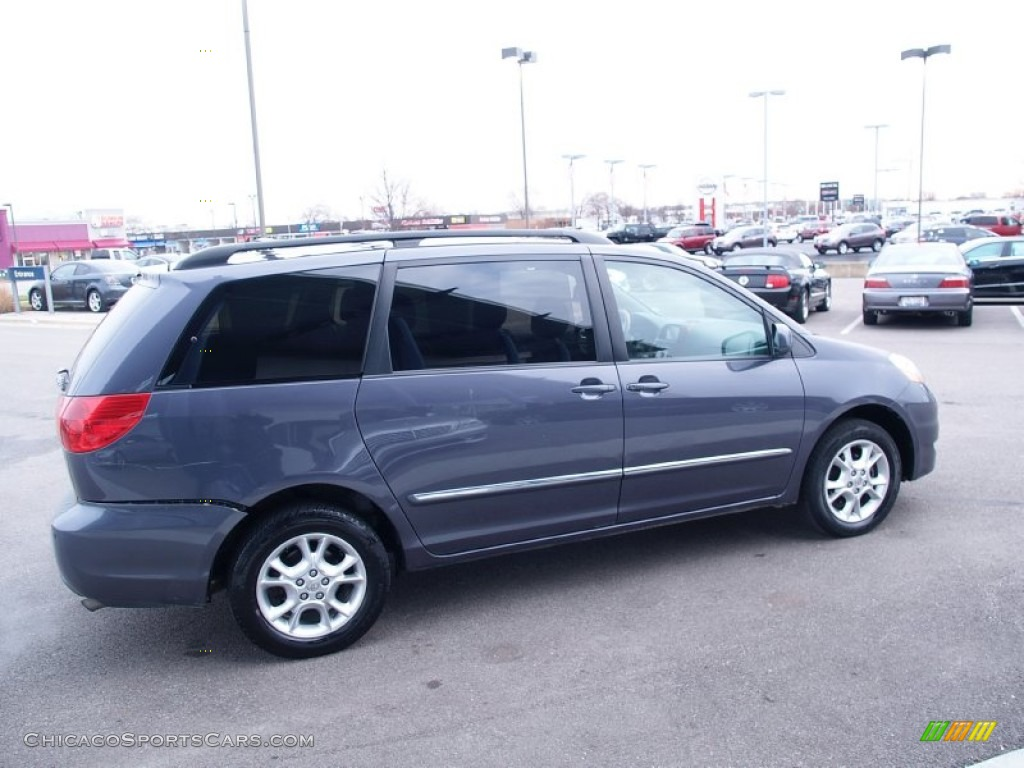 2006 Sienna XLE AWD - Slate Metallic / Stone Gray photo #6