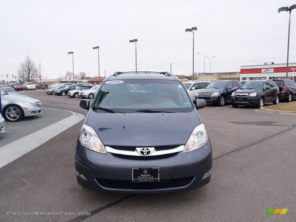 2006 Sienna XLE AWD - Slate Metallic / Stone Gray photo #8