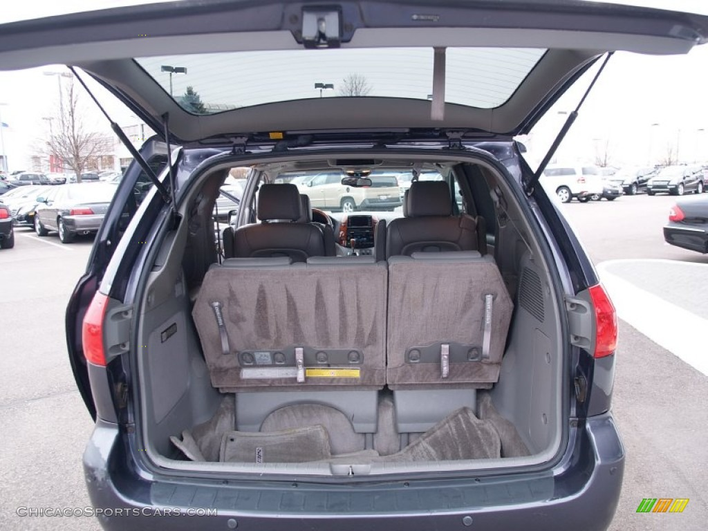 2006 Sienna XLE AWD - Slate Metallic / Stone Gray photo #11