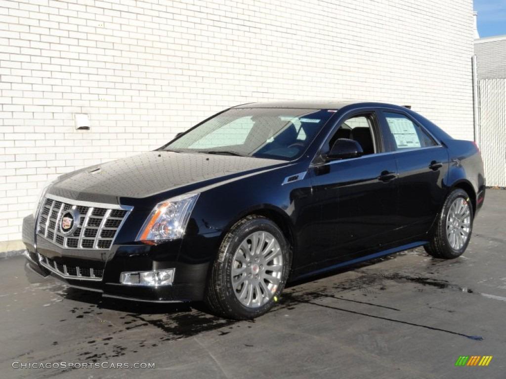 2012 Cadillac Cts 4 3 6 Awd Sedan In Black Raven 133328