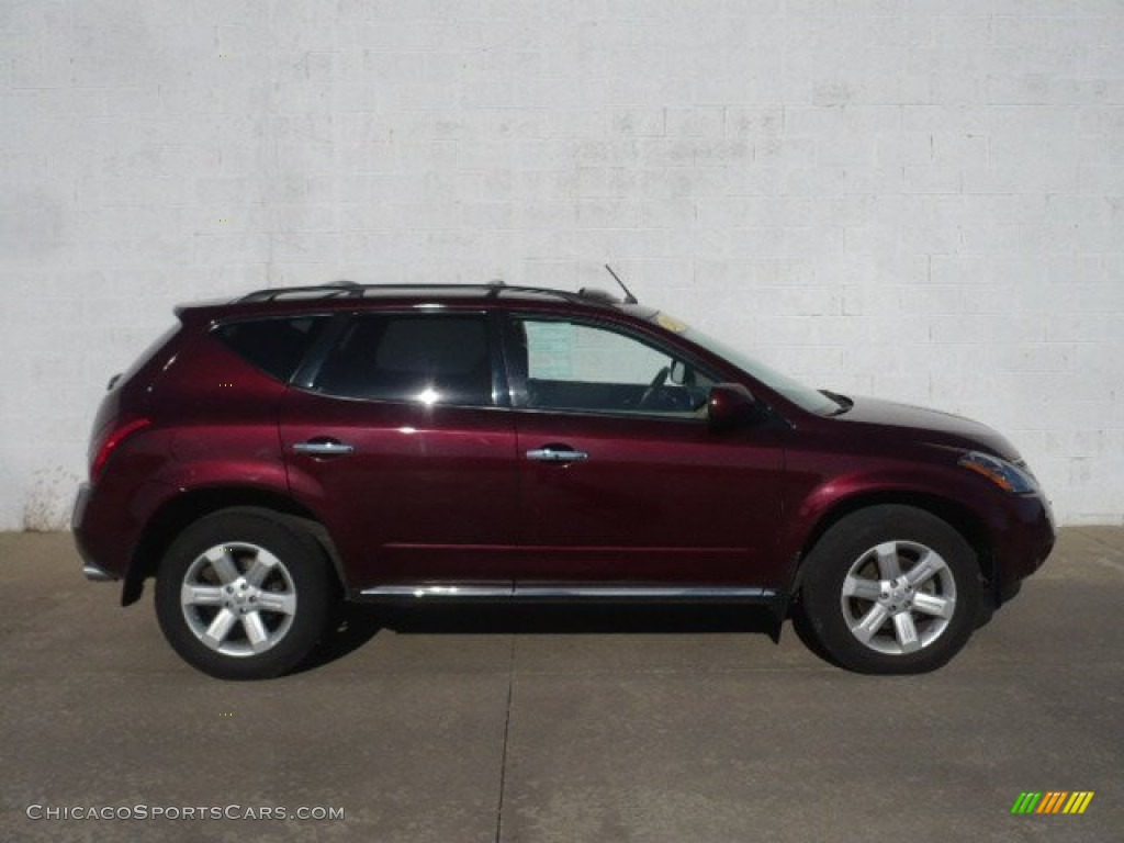 Merlot Pearl / Cafe Latte Nissan Murano SL AWD