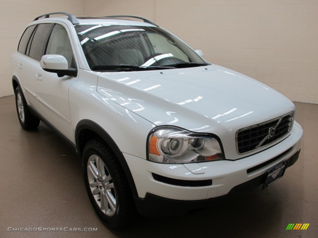 2008 XC90 3.2 AWD - Ice White / Sandstone photo #1