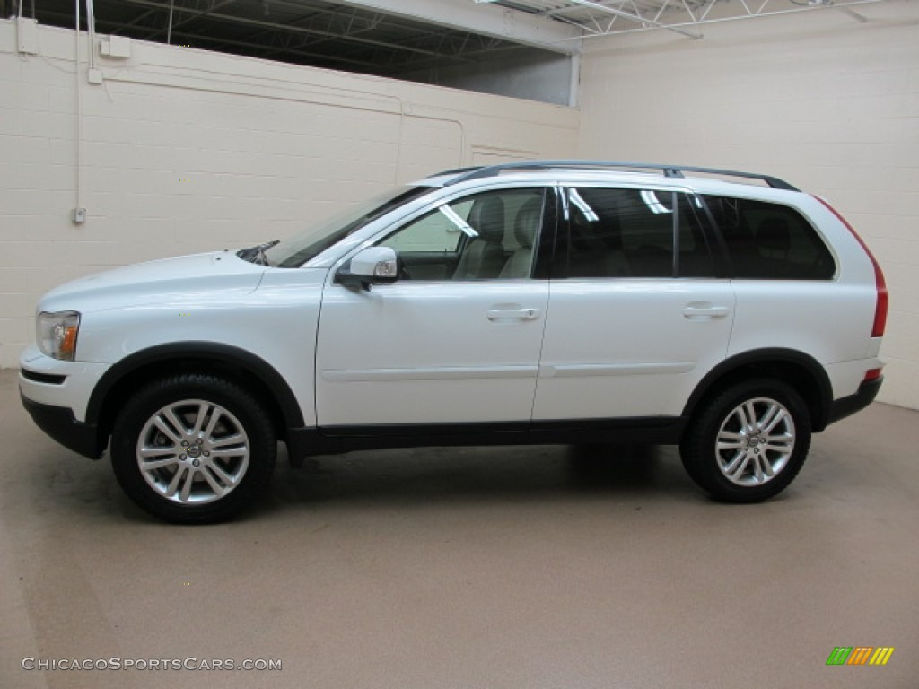2008 XC90 3.2 AWD - Ice White / Sandstone photo #5