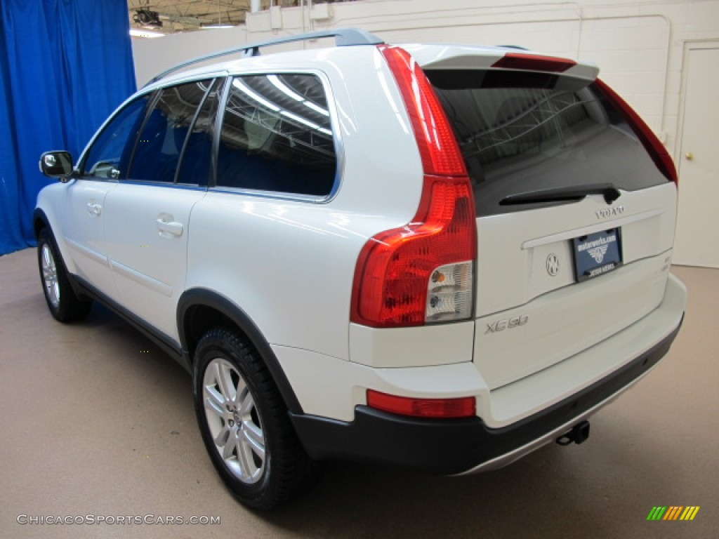 2008 XC90 3.2 AWD - Ice White / Sandstone photo #6