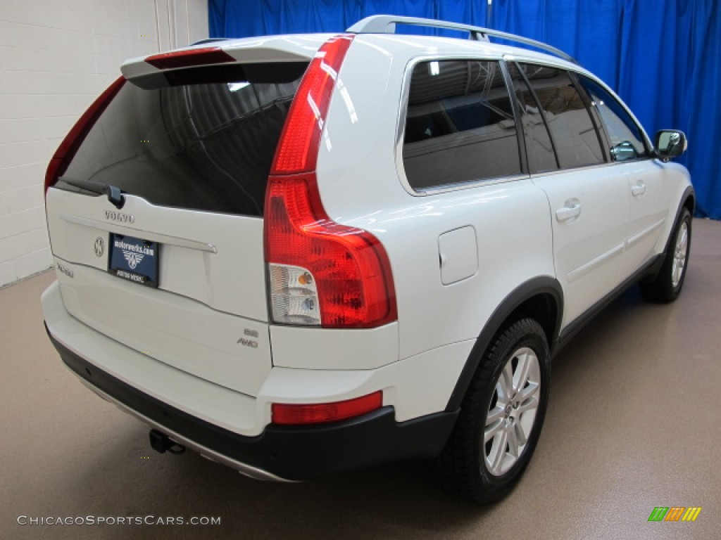 2008 XC90 3.2 AWD - Ice White / Sandstone photo #9