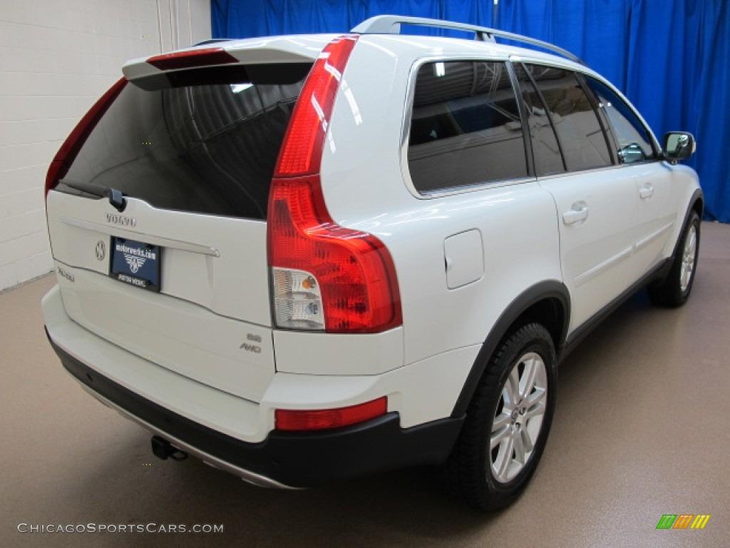 2008 XC90 3.2 AWD - Ice White / Sandstone photo #9