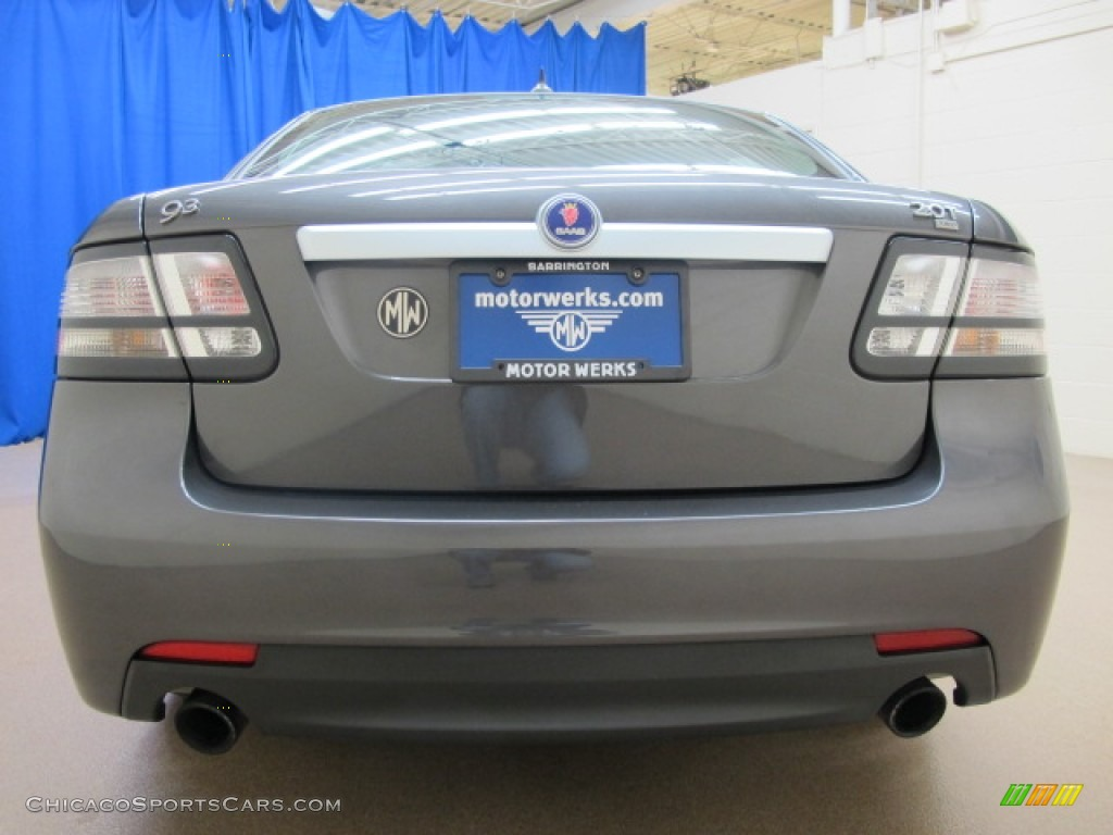 2010 9-3 2.0T Sport Sedan XWD - Titan Gray Metallic / Black photo #8