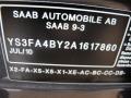 Saab 9-3 2.0T Sport Sedan XWD Titan Gray Metallic photo #43