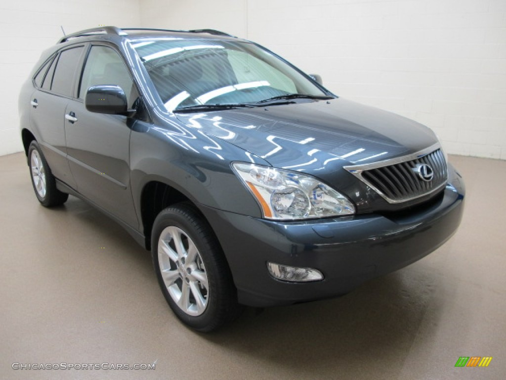 Smokey Granite / Black Lexus RX 350 AWD