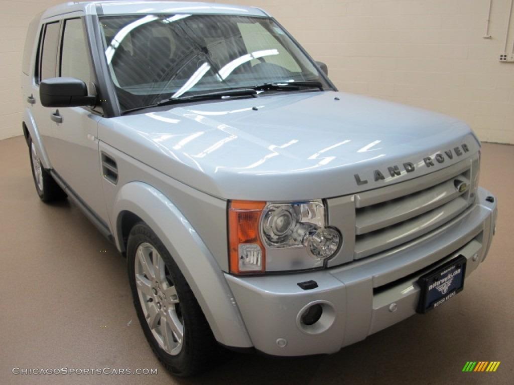 Zermatt Silver Metallic / Ebony Land Rover LR3 HSE