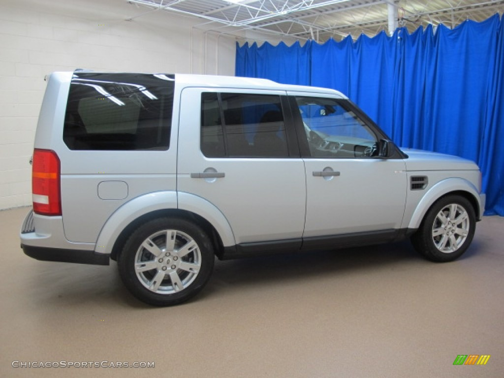 2009 LR3 HSE - Zermatt Silver Metallic / Ebony photo #10